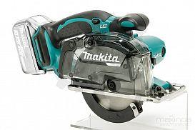 Slika izdelka: Akumulatorska ročna krožna žaga za kovino MAKITA DCS552Z