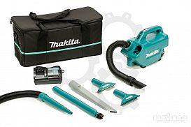 Slika izdelka: Akumulatorski kompaktni sesalec puhalnik MAKITA CL121DWA