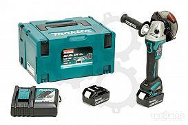 Slika izdelka: Akumulatorski kotni brusilnik MAKITA DGA504RTJ