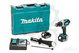 Slika izdelka: Akumulatorski vibracijski vrtalnik vijačnik MAKITA DHP458RFJ