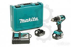 Slika izdelka: Akumulatorski vibracijski vrtalnik vijačnik MAKITA DHP484RTE