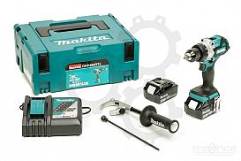 Slika izdelka: Akumulatorski vibracijski vrtalnik vijačnik MAKITA DHP486RTJ