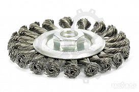 Slika izdelka: Kolutna žična krtača - 115 mm