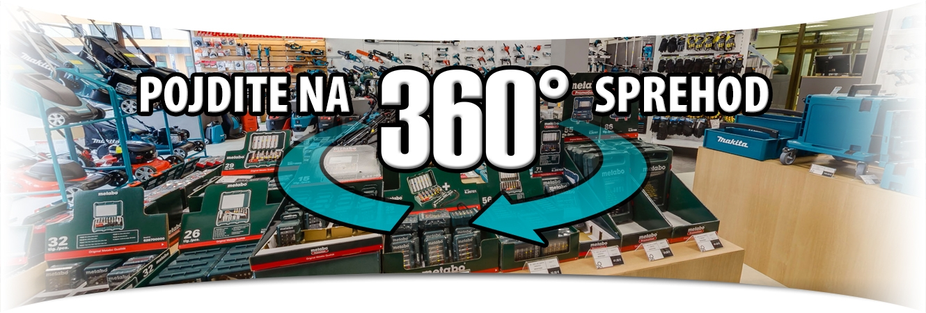 Animacija 360 sprehod